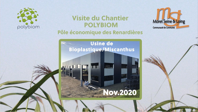 Vidéo visite du chantier de l'usine Polybiom